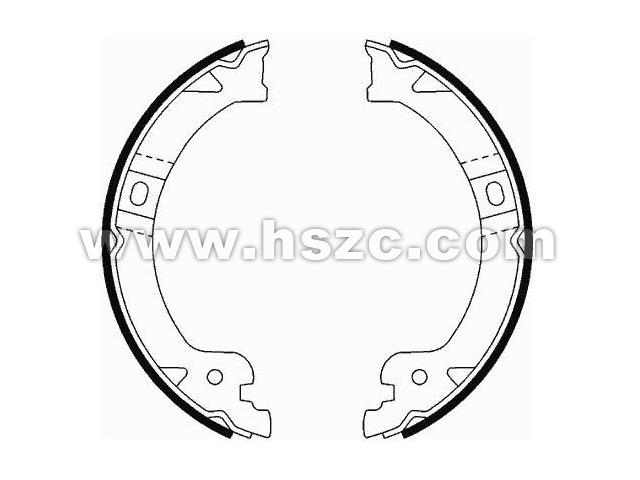 Brake Shoe Set:5019802AA